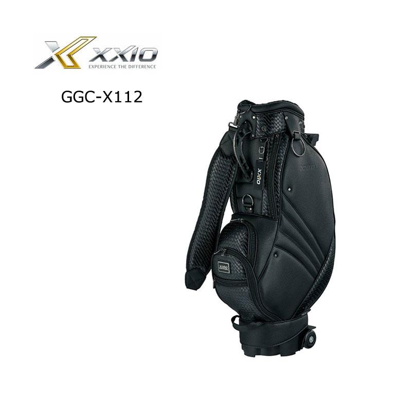 【★】ダンロップ ゴルフ ゼクシオ XXIO メンズ キャスター付 キャディバッグ GGC-X112【2020年モデル】