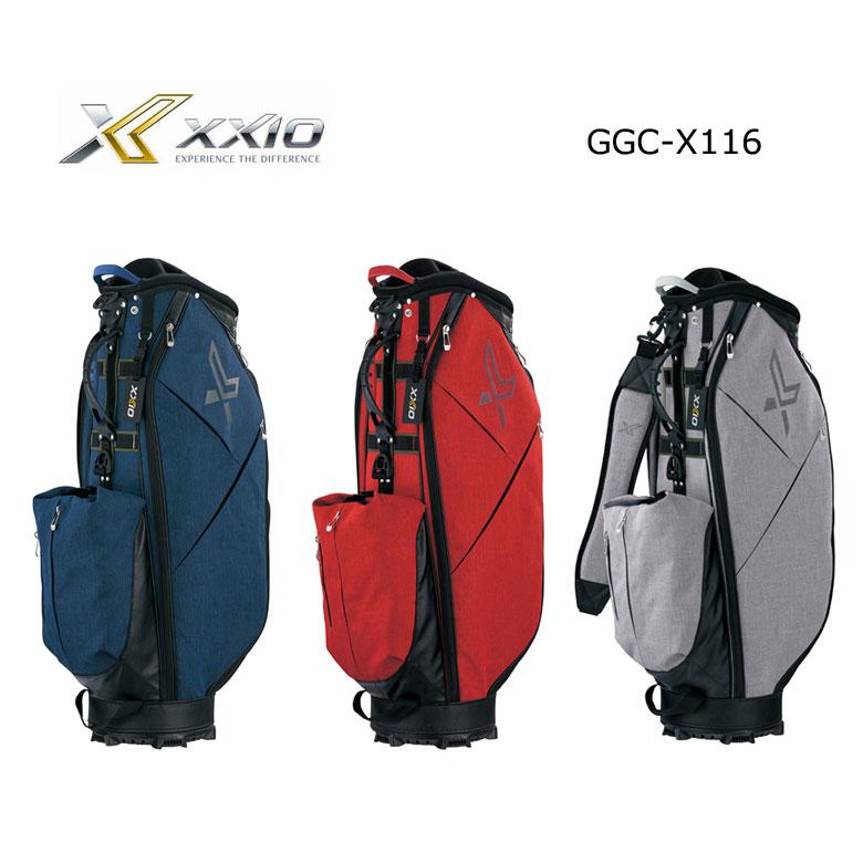 【★】ダンロップ ゴルフ ゼクシオ XXIO メンズ キャディバッグ GGC-X116 2020年モデル