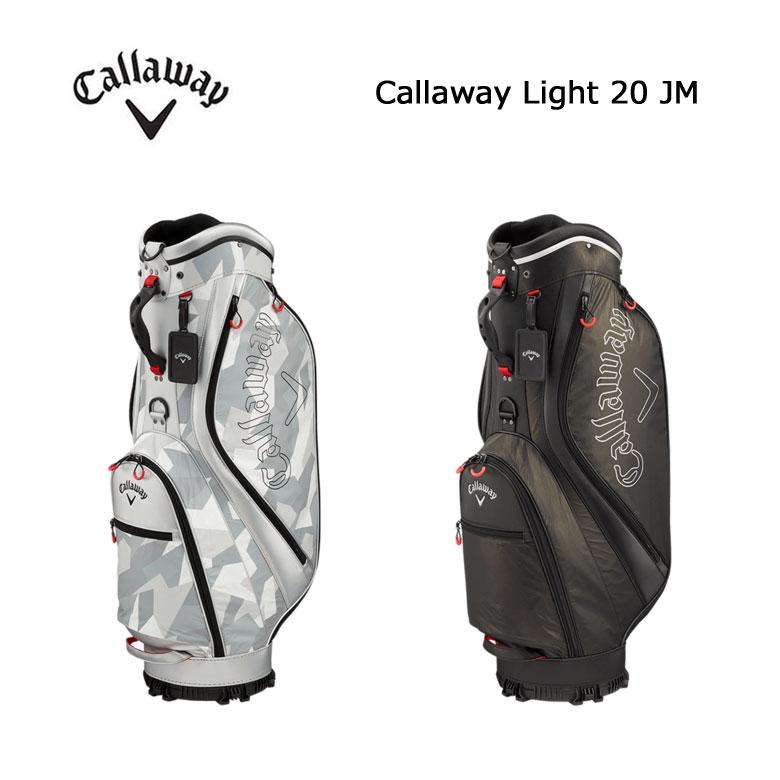 【★】【2020年モデル】キャロウェイ ライト 20 JM 軽量 キャディバッグCallaway Light 20 JM日本代理店モデル【5120279】【5120280】