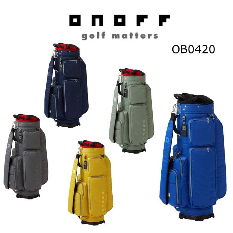 【★】ONOFF オノフ ゴルフ キャディバッグ OB0420 【2020年最新モデル】