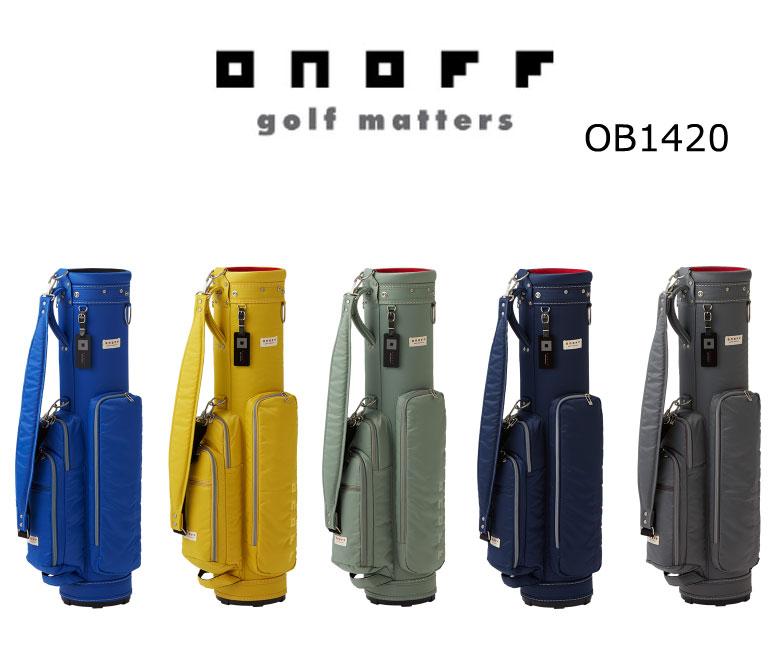 【◆】ONOFF オノフ ゴルフ 軽量 キャディバッグ OB1420【2020年最新モデル】