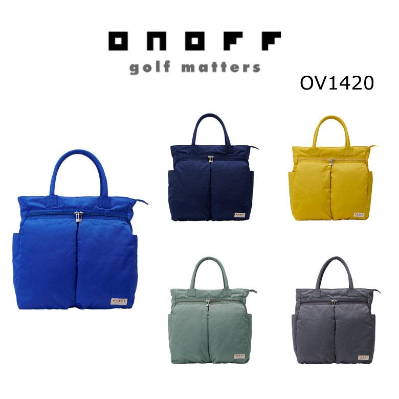 【★】ONOFF オノフ ゴルフ ボストンバッグ OV1420 【2020年最新モデル】