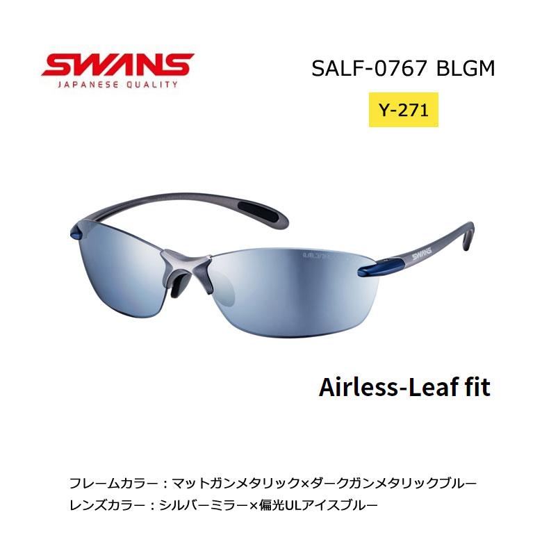 【◆】SWANS スワンズ サングラスAirless-Leaf fitエアレス・リーフフィット ULTRA for GOLFモデル【SALF-0767 BLGM】【Y-271】2020年モデル