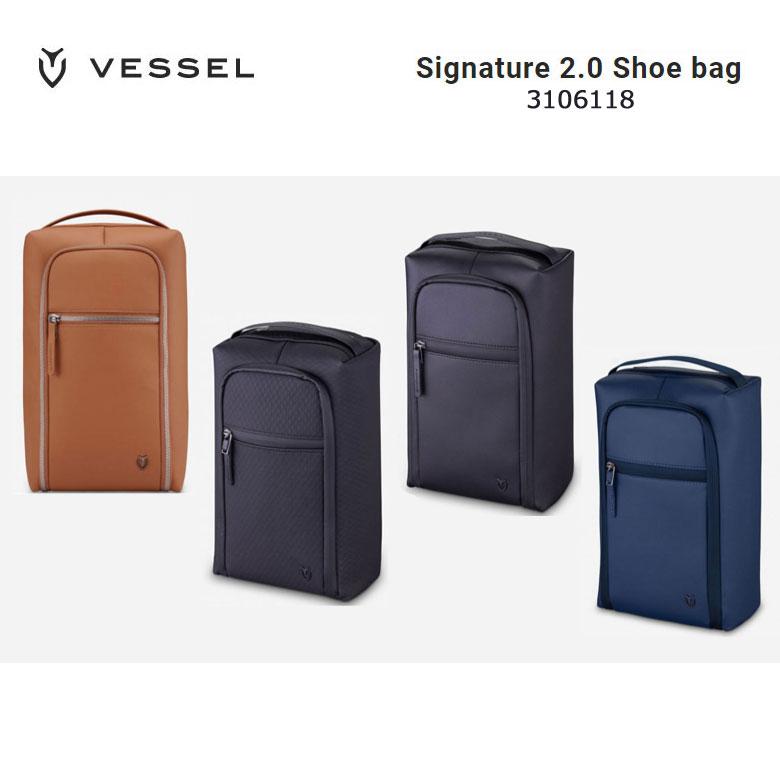 【★】VESSEL ベゼルゴルフ シグネチャー 2.0 シューズバッグ Signature 2.0 Shoe bag 3106118 2019年モデル