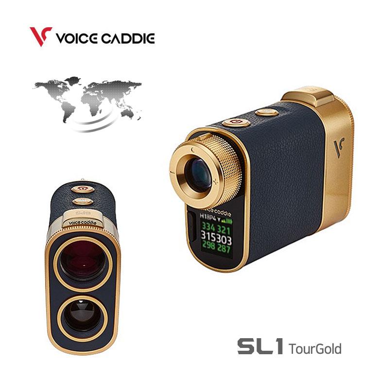 【★】Voice Caddie ボイスキャディ ハイブリッド GPS レーザー距離測定器 SL1 Tour Gold ツアーゴールド ゴルフナビ【2019年モデル】