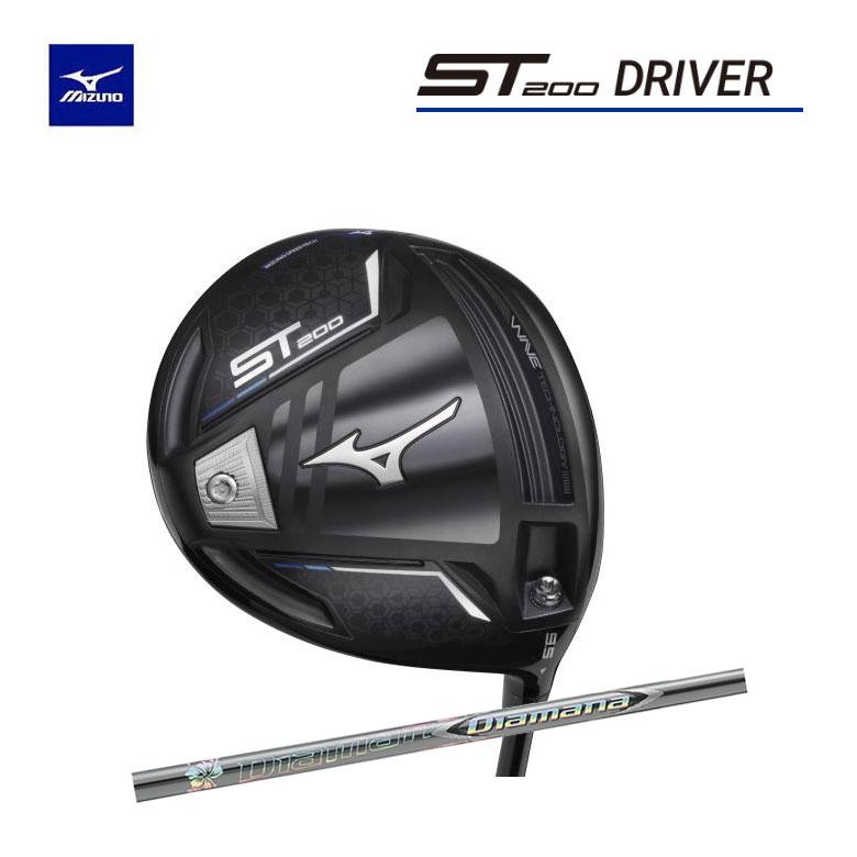 【◆】ミズノ ゴルフ ST200 ドライバーディアマナ ZF 60 カーボンシャフトMIZUNO Diamana ZF-60【2020年モデル】