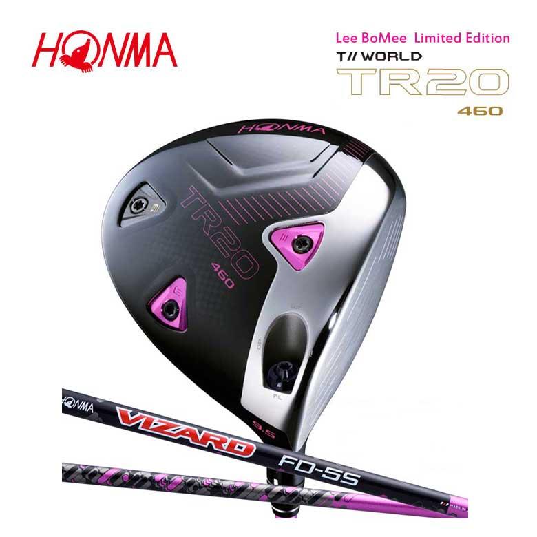 【◆】本間ゴルフ ツアーワールド TR20-460 イボミピンク ドライバー VIZARD FD-5 カーボンシャフトLee Bo-Mee Limited Edition【2020年モデル】HONMA GOLF ホンマゴルフ 新品