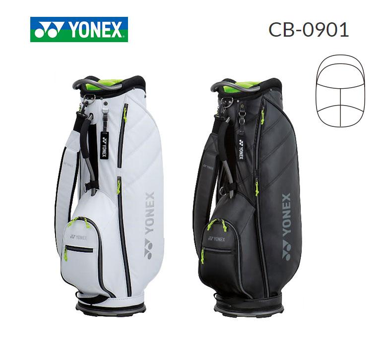 【◆】4月下旬発売予定。【先行予約】【CB-0901】ヨネックス ゴルフ 軽量 キャディバッグ YONEX GOLF 2020年モデル