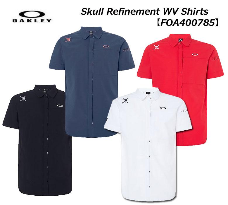 【★】【FOA400785】オークリー Skull Refinement WV Shirts OAKLEY メンズ ゴルフ ウェア 半袖シャツ 【2020年春夏モデル】【即納可】