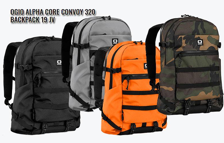 【4月15日0:00~23:59全商品ポイント5倍】【2019年NEW】OGIO ALPHA Core Convoy 320 Backpack 19 JVオジオ アルファ コンボイ 320 バックパック日本代理店モデル