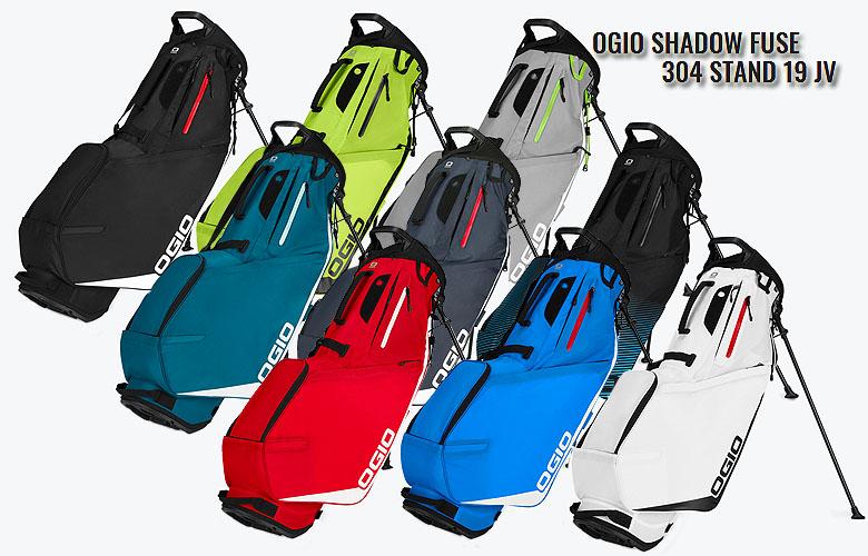 【★】【2019年NEW】OGIO SHADOW Fuse 304 Stand 19 JVオジオ シャドウ ヒューズ 304 スタンド式キャディバッグ日本代理店モデル