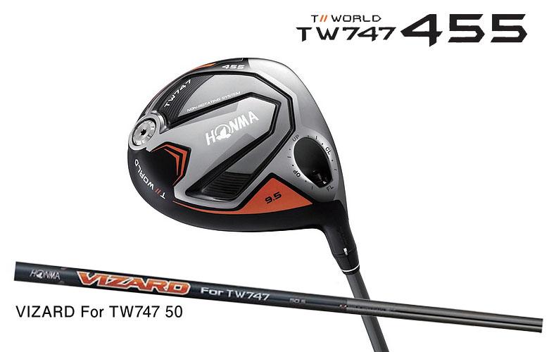 【★】本間ゴルフ ツアーワールド TW747 460HONMAgolf TOUR WORLD TW747 455ドライバー VIZARD for TW747 50 シャフト