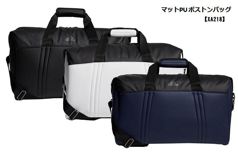 【★】アディダス 【XA218】マットPU ボストンバッグ adidas golf 【日本代理店モデル】【xa218】