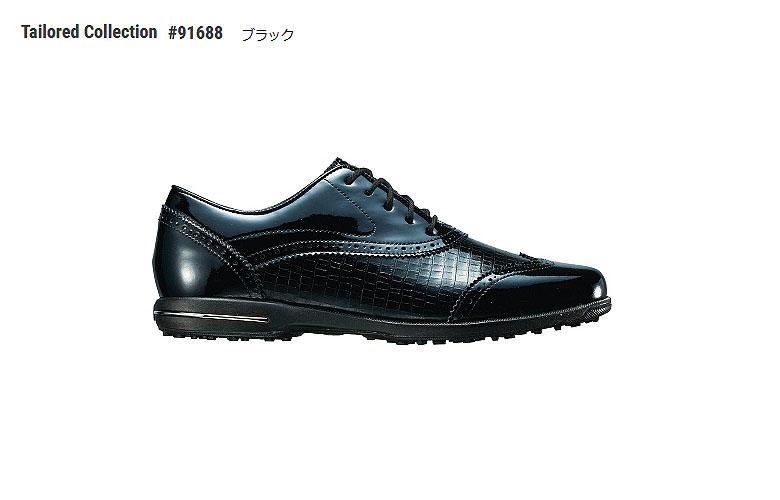 【★】テーラードコレクション【91688】ブラック(W)FOOT JOY TAILORED COLLECTIONフットジョイ 日本モデル レディースゴルフシューズ【2018年NEW】