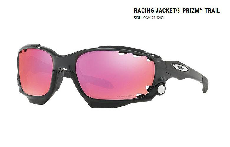 【★】日本正規品!オークリー「Racing Jacket PRIZM Trail」【OO9171-3862/Carbon×Prizm Trail 】日本正規品モデル【即納可】【送料無料】91713862 サングラス