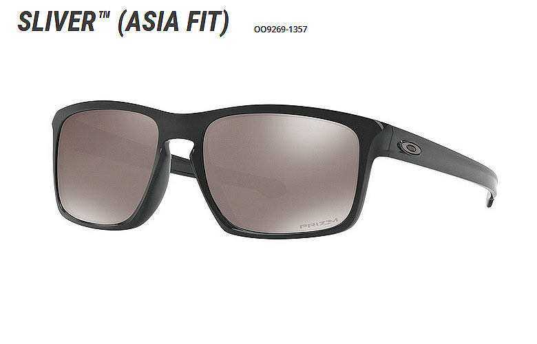 【★】オークリー「Sliver」【OO9269-1357/Polished Black×Prizm Black Polarized】日本正規品(Asia Fit)【送料無料】92691357 サングラス