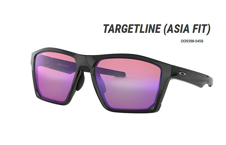 【★】オークリー「Targetline」【OO9398-0458/Polished Black×Prizm Golf】日本正規品(Asia Fit)93980458 サングラス (在庫商品有のみ即納可)