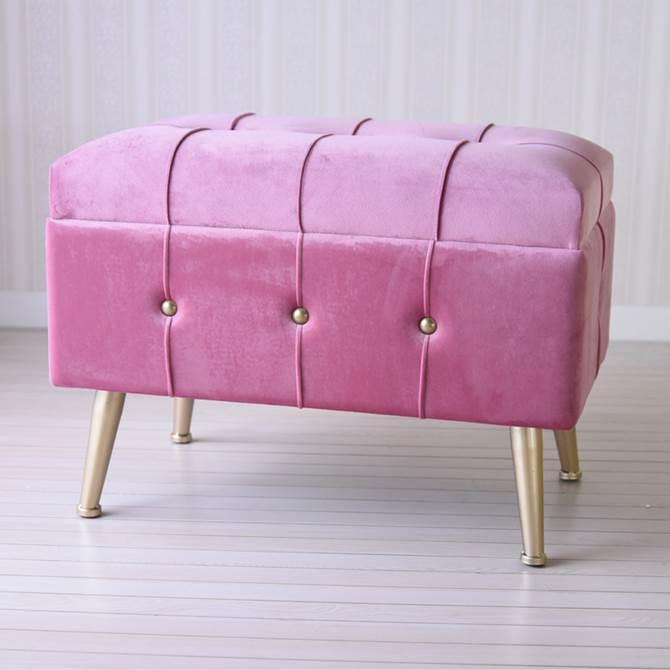 スツール 収納 ピンク おしゃれ ボックス アンティーク ガーリー プリンセス ロココ 収納スツール L ヨーロピアン クラシック ロココ調 アンティーク調 インテリア雑貨 椅子 イス チェア 収納付 姫系 かわいい デザイン 大容量 たくさん収納