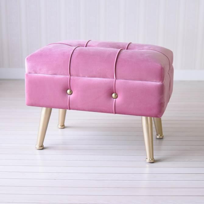 スツール 収納 ピンク おしゃれ ボックス アンティーク ガーリー プリンセス ロココ 収納スツール M ヨーロピアン クラシック インテリア雑貨 椅子 イス チェア 収納付 姫系 かわいい デザイン 大容量 たくさん収納