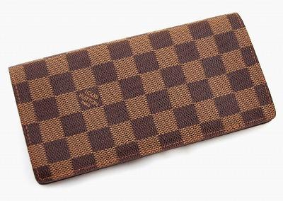 【ルイヴィトン ダミエ ポルトフォイユ・ブラザ】 LOUIS VUITTON 【長財布】 N60017【Luxury Brand Selection】