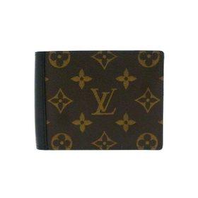【ルイヴィトン モノグラム ポルトフォイユ・ミンドロ】 LOUIS VUITTON 二つ折財布 M60411【Luxury Brand Selection】