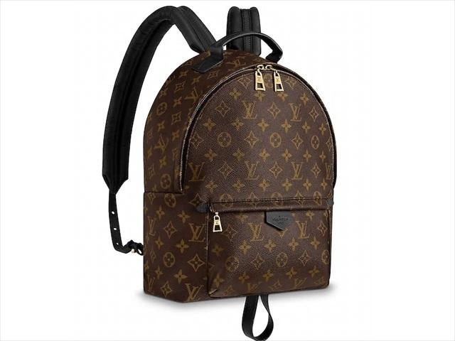【ルイヴィトン モノグラム/マカサー パームスプリングス バックパック MM】 LOUIS VUITTON バックパック M41561【Luxury Brand Selection】