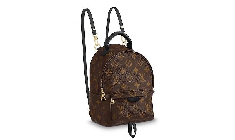 【ルイヴィトン モノグラム/マカサー パームスプリングス バックパック ミニ】 LOUIS VUITTON バックパック M41562【Luxury Brand Selection】