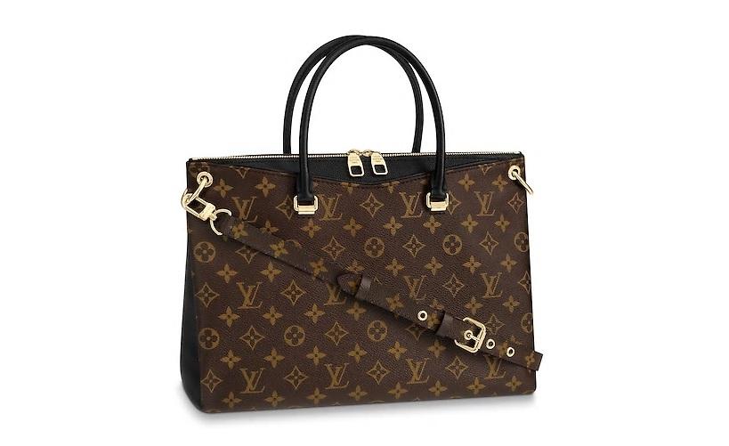 【新品】【ルイヴィトン モノグラム/ノワール パラス】 LOUIS VUITTON ハンドバッグ M42756【Luxury Brand Selection】