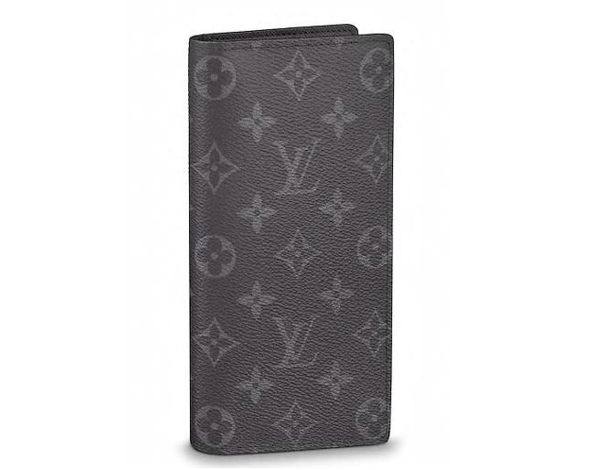 【新品】【ルイヴィトン モノグラム・エクリプス ポルトフォイユ・ブラザ】 LOUIS VUITTON 財布 M61697【Luxury Brand Selection】