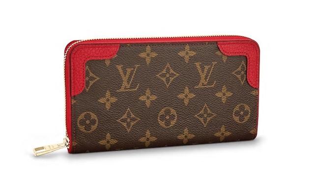 【ルイヴィトン モノグラム/スリーズ ジッピー・ウォレット レティーロ 】 LOUIS VUITTON 財布 M61854【Luxury Brand Selection】