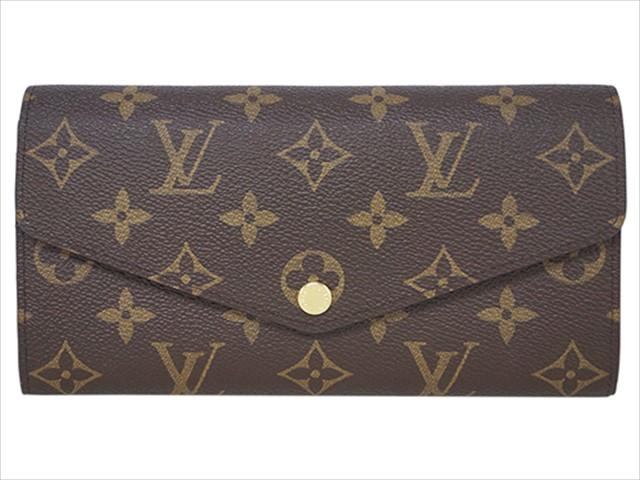 【ルイヴィトン モノグラム/コクリコ ポルトフォイユ・サラ】 LOUIS VUITTON 財布 M62236【Luxury Brand Selection】