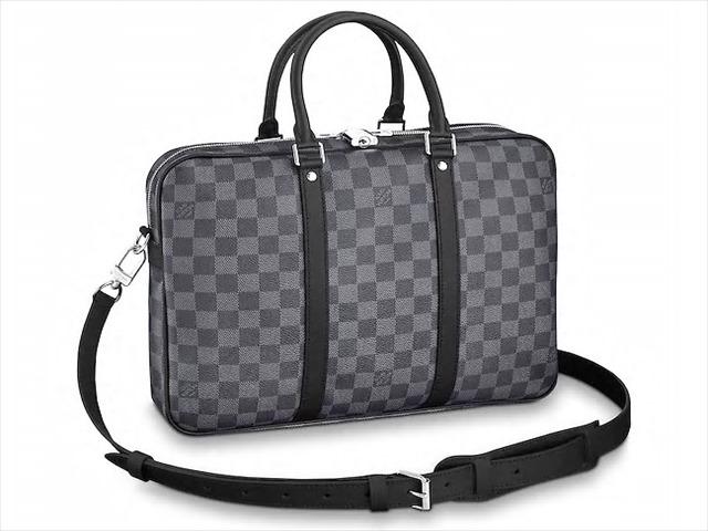 【ルイヴィトン ダミエ・グラフィット PDV PM】 LOUIS VUITTON ビジネスバッグ N41478【Luxury Brand Selection】