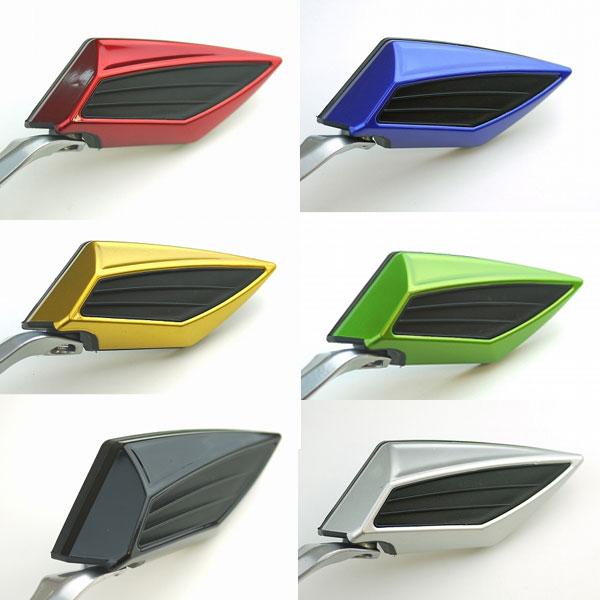 ミラー 汎用品 カスタム 各色カラーバリエーション有 ダイヤミラー左右セット パーツ 物品 好評