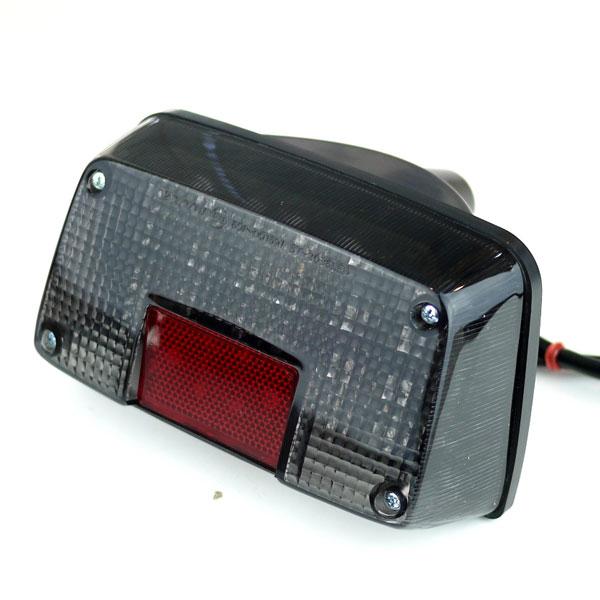 GSX400用LEDテールランプ スモークレンズ GSX400 インパルス IMPULSE GSX400Sカタナ GSX250Sカタナ 刀