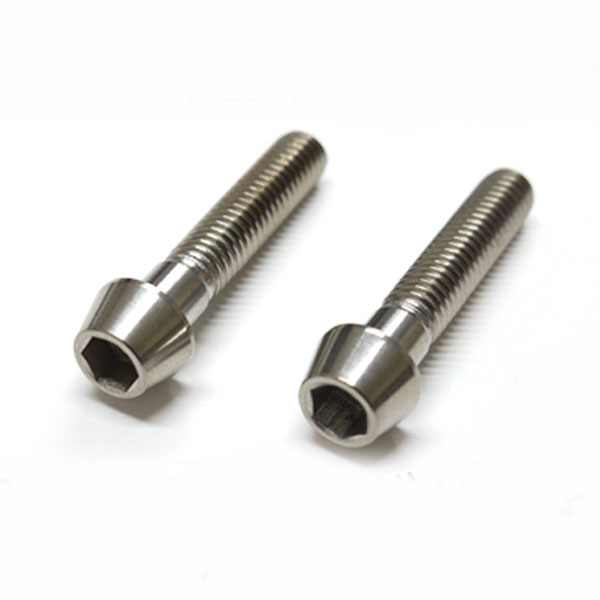 Ti - 6Al -4V Titanium which there is no 64 titanium bolt taper cap M6 *30mm  P1 0 firing color in