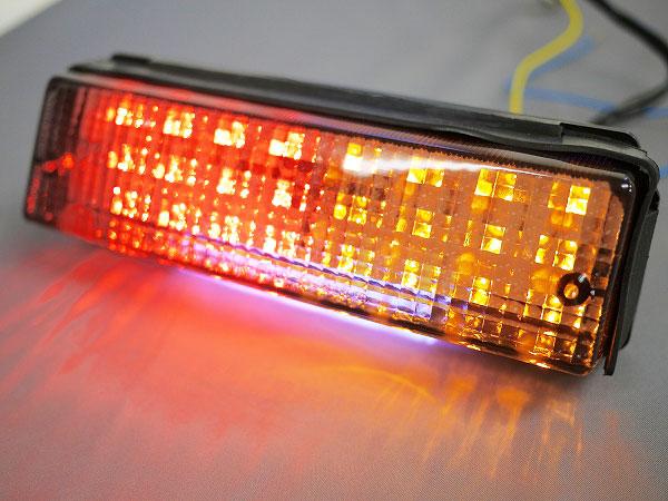 数量は多 GPZ900R お値打ち価格で GPZ750R用 LEDウインカー付きテールランプスモークレンズ