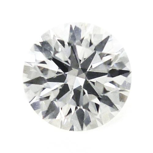 【中央宝石研究所グレーディングレポート付】天然 ダイヤ 0.307ct (F-VVS1-VG) ラウンド ルース【新品】
