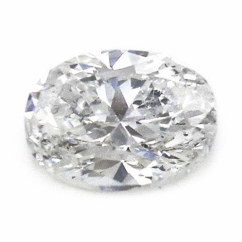 【中央宝石研究所ソーティング付】天然 ダイヤ 1.004ct (F-SI2) オーバルカット ルース