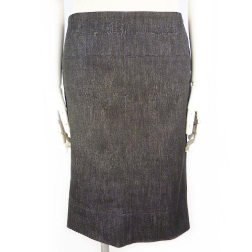 【フェンディ FENDI】デニムスカート 38サイズ カジュアル レディース【中古:超美品】