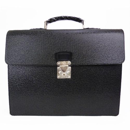 【中古】【送料無料】【LOUIS VUITTON ルイ・ヴィトン】モスコバ タイガ メンズ ビジネスバッグ ブリーフケース ブラック style/M30032