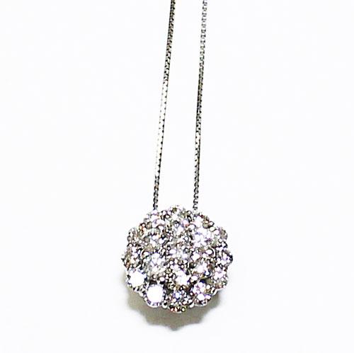 PT ダイヤ 1.00ct ペンダント ネックレス プラチナ【新品】