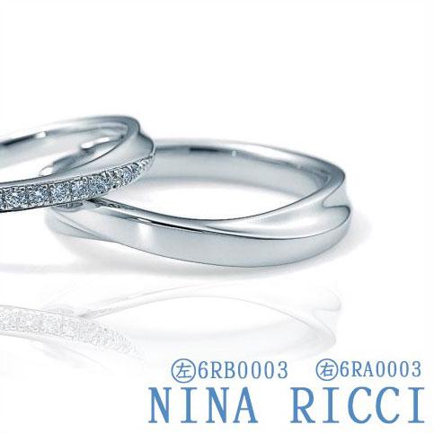 刻印無料 NINA RICCI ニナリッチ Pt900 送料無料限定セール中 メンズ 6RA0003 結婚指輪 正規認証品 新規格 新品 マリッジリング 受注