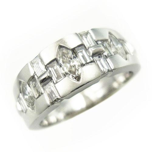 美品 ダイヤ 0.91ct PT900 リング 指輪 12.5号【中古】