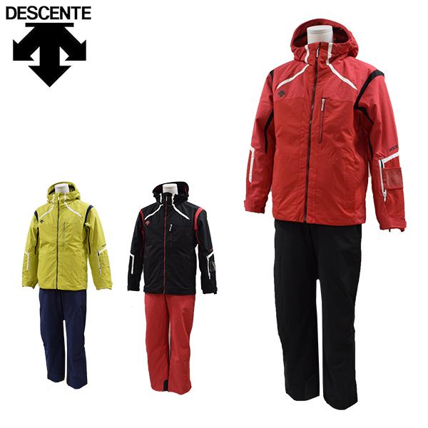 送料無料】デサント descente スキーウェア 上下セット メンズ