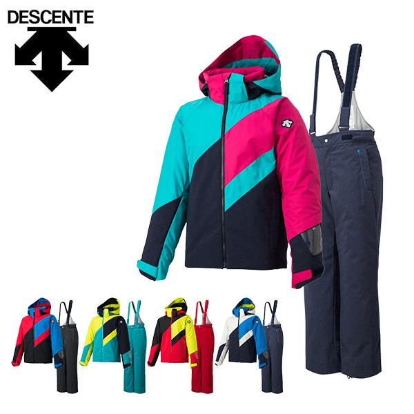 デサント descente スキーウェア キッズ ジュニア 上下セット DWJMJH92 あす楽対応_北海道 雪遊び 130 140 150 160