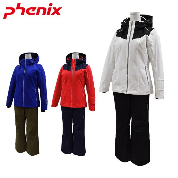 【送料無料】フェニックス phenix スキーウェア上下セット レディース Bi-Color Snow Marble W's Two Piece PS8822P60 【あす楽対応_北海道】