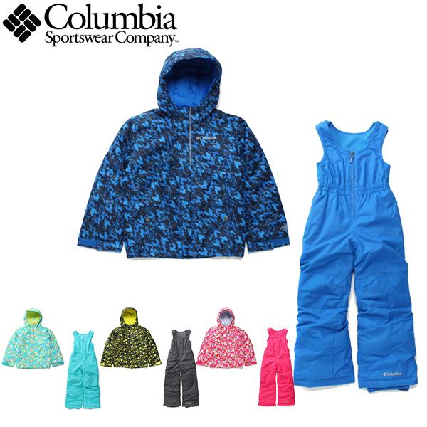 コロンビア columbia スキーウェア キッズ バガセット Buga Set SY1091 あす楽対応_北海道 雪遊び