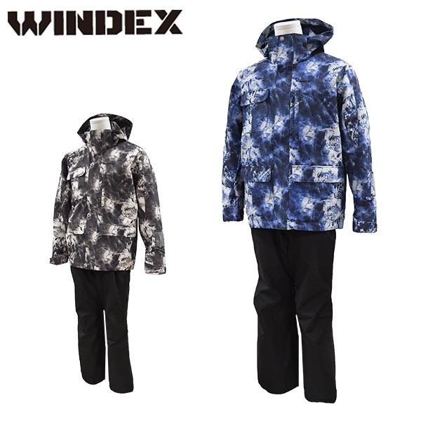 ウインデックス windex スキーウェア メンズ M L LL スノーウエア スキーウエア 上下セット WS-1301【あす楽対応_北海道】