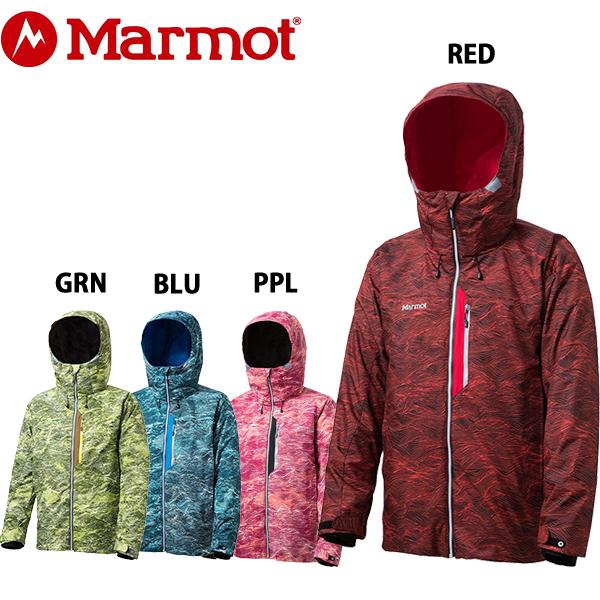 送料無料 マーモット marmot メンズ スノボ ジャケット スノーボード ヒートナビ ボーナススプレージャケット MJW-F5008