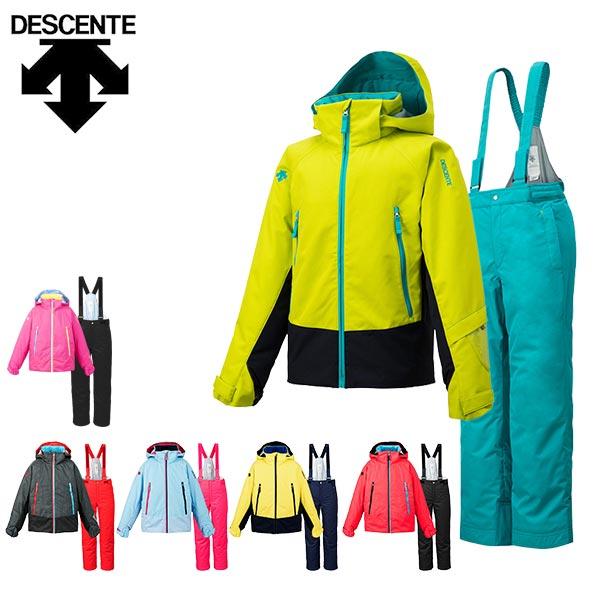 デサント descente スキーウェア キッズ ジュニア 上下セット DJR-715JF あす楽対応_北海道 雪遊び 130 140 150 160